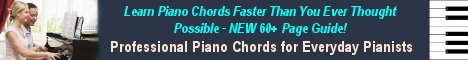 Learn Piano Chords Fast